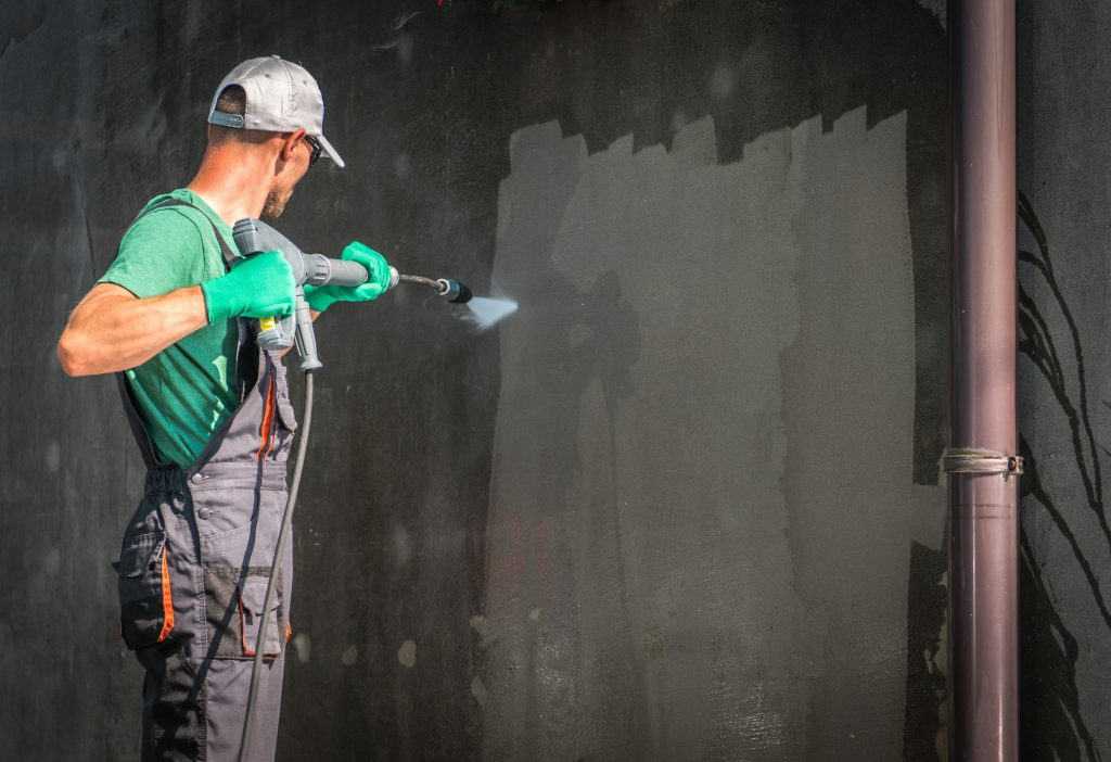Building Elevation Washing