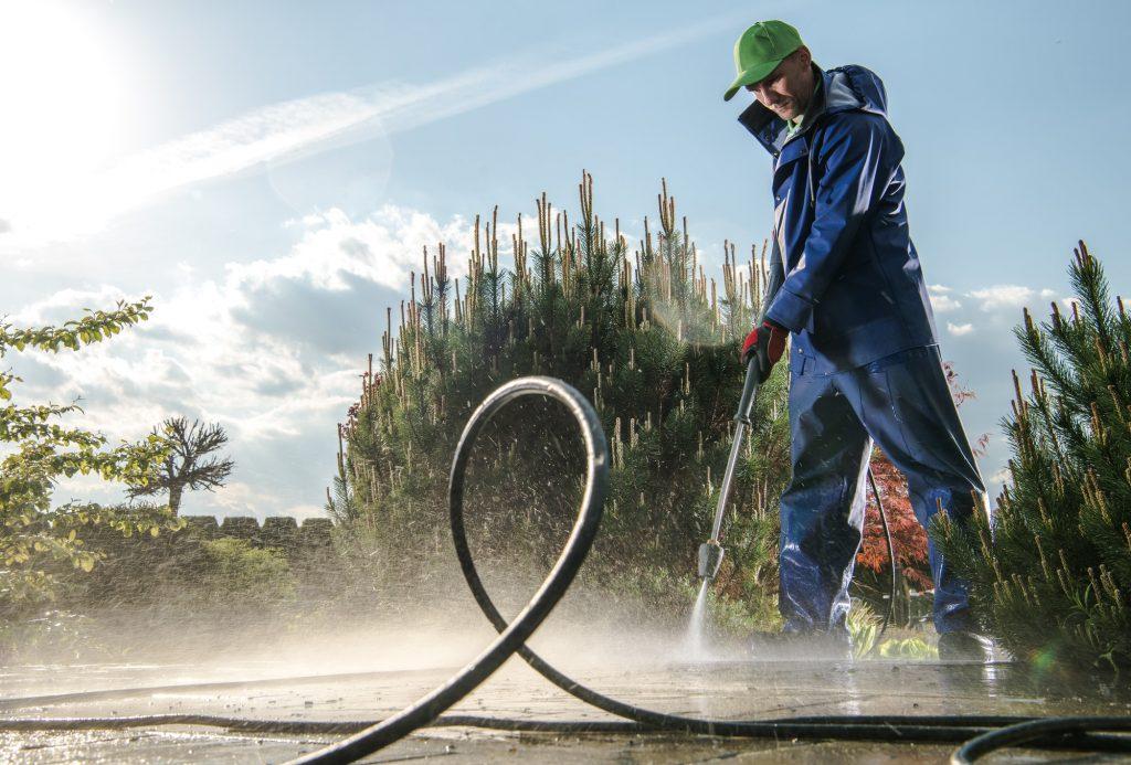 Garden Washing Maintenance